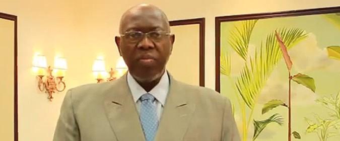 Minister of Health, Hon. Dr. Fenton Ferguson, expresses appreciation for Issa Trust Foundation