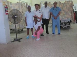 Port Antonio ED crew