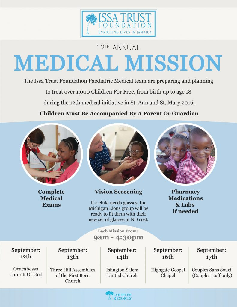 itf 12th medical mission flyer