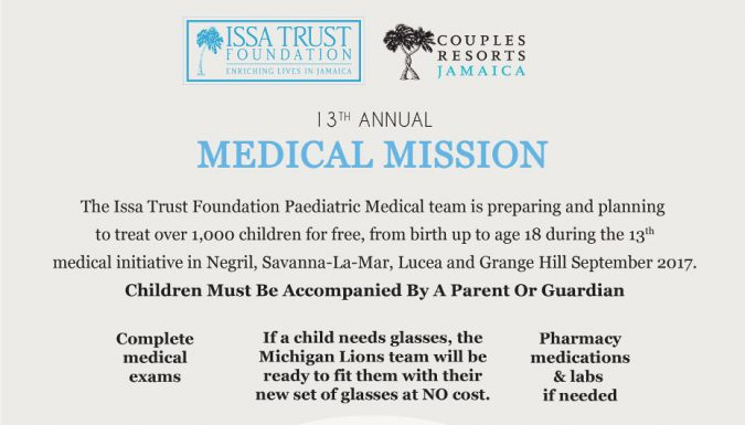 Announcing the 13th Annual Pediatric Medical Mission