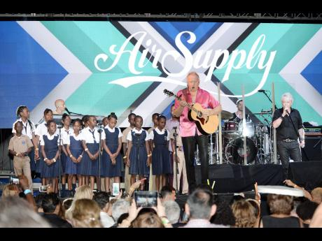 Concert Held at Couples San Souci Resorts, St Ann, allowed the foundation to meet its target of $160,000!
