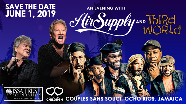 Save the Date – An Evening With Air Supply and Third World